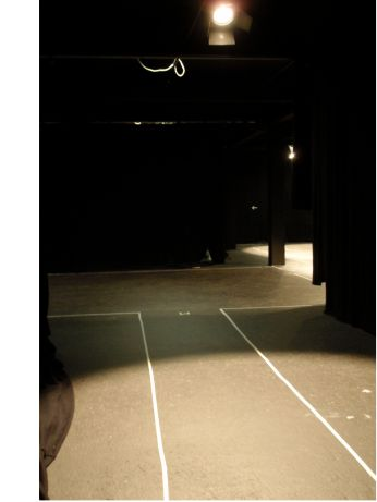 """The not so hidden """"Backstage"""" area"""