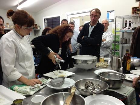 Making Nitro lime mousse
