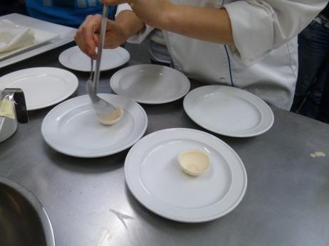 Making the nitro nut shells